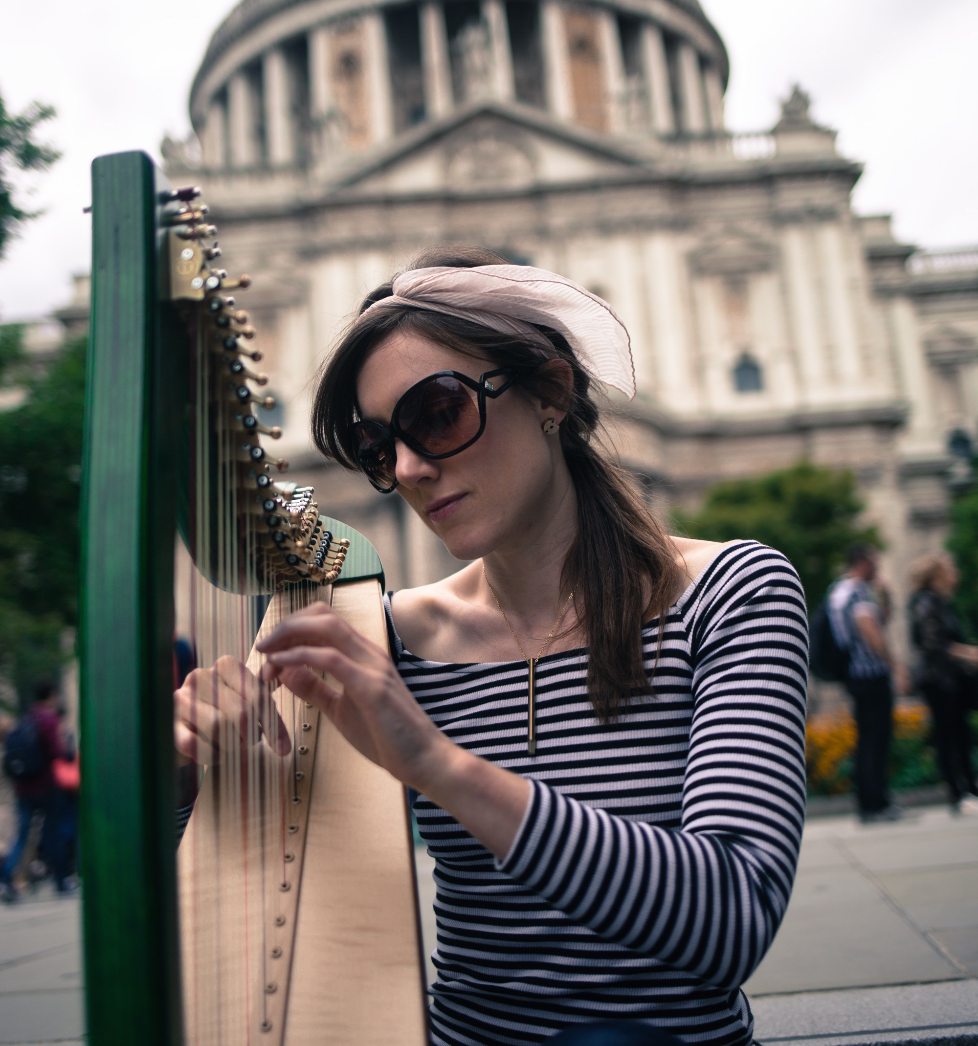 Tamsin Dearnley harp teacher